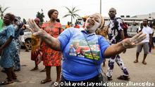Nigeria Benin City   Edo State Wahlen   Godwin Obaseki gewinnt