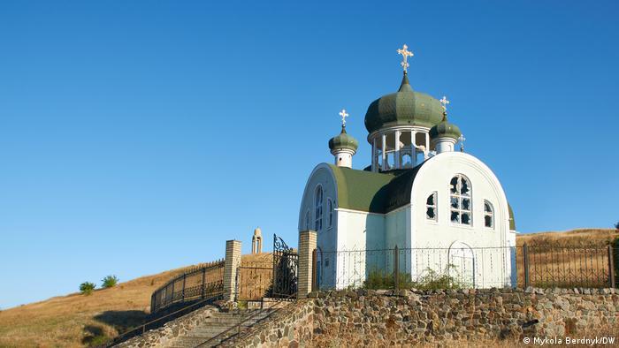 Храм у Широкиному залишився неушкодженим