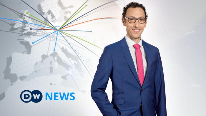 DW News Moderator William Clucroft (Artikelbild Detailseite)