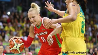Brasilien Rio de Janeiro | Basketballspielerin | Yelena Leuchanka