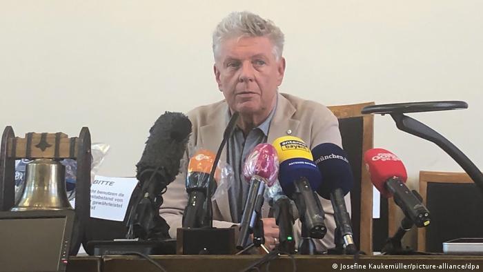 München führt neue Corona-Beschränkungen ein, PK Dieter Reiter (Josefine Kaukemüller/picture-alliance/dpa)