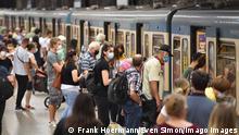 Deutschland Maskenpflicht U-Bahn München