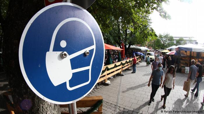 Стримати коронавірус: на деяких вулицях у центрі Мюнхена введено масковий режим