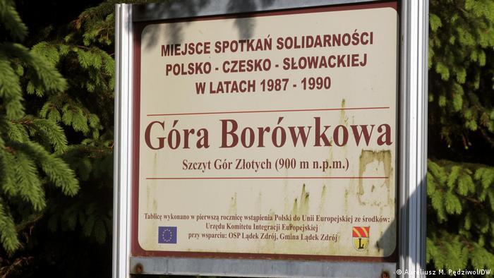 Miejsce spotkań dysydentów z Polski i Czechosłowacji