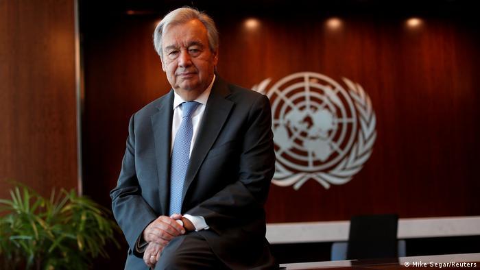 Der Generalsekretär der Vereinten Nationen Antonio Guterres