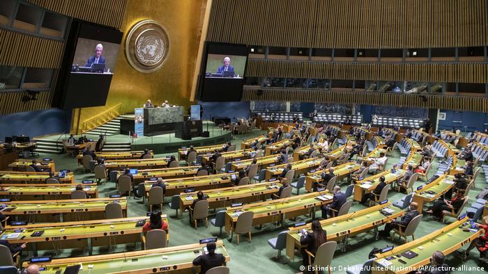 Зала засідань Генасамблеї ООН (фото з архіву)