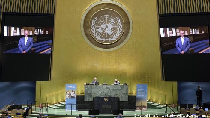 USA, New York I 75. Jahrestag der Vereinten Nationen (Manuel Elías/United Nations/dpa/picture-alliance)
