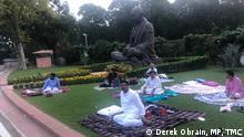 Indien Protest im Parlament