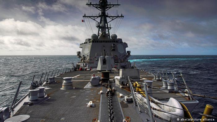 US Navy Kriegsschiff Taiwan Arleigh Burke