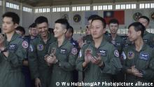 Taiwan China Penghu Magong Militärbasis