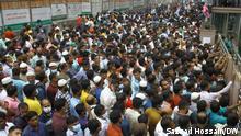 Bangladesch Gastarbeiter Karwan Basar Demonstration