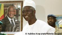 Ausschnitt | Mali Bamako | Jean-Ayves Le Drian und Bah N'Daw