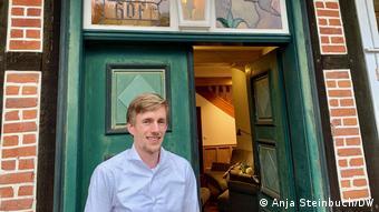 Porträt Björn Bohlen, Lüneburger Heide, Deutschland(Anja Steinbuch/DW)