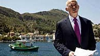 Papandreou Griechenland Hilfeersuchen