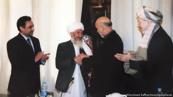 Mohammad Akbar, der Begründer des Safran-Anbaus in Afghanistan (Abdul Rezaq/Khorsheed Saffron-Vereinigung/Herat)
