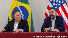 Brasilien Staatsbesuch Mike Pompeo