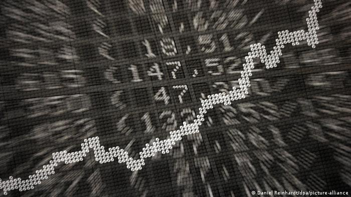 an illustration of a stock market chart
