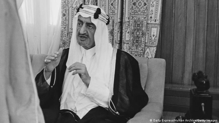 Prinz Faisal von Saudi-Arabien I 1967 (Daily Express/Hulton Archive/Getty Images)