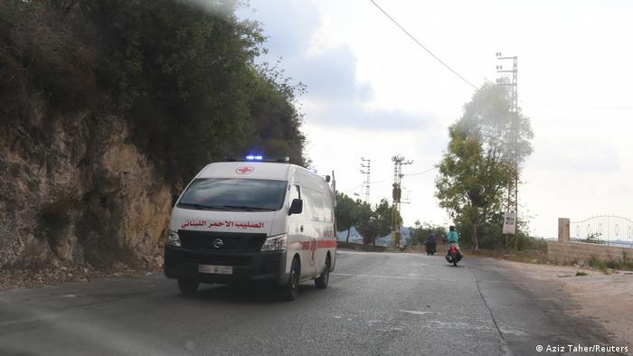 Libanon Explosion in Ain Qana (Aziz Taher/Reuters)
