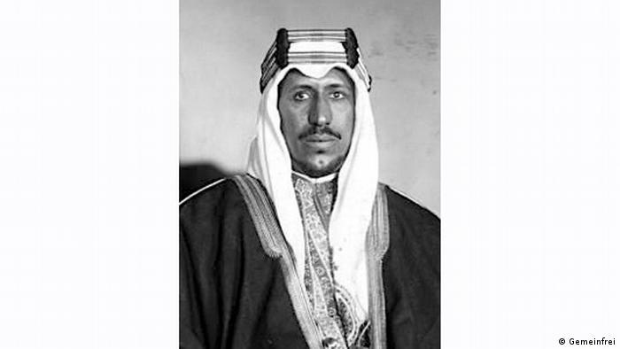 Saudi-Arabien König Saud ibn Abd al-Aziz Al Saud (Gemeinfrei)