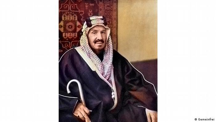 Saudi-Arabien König Abd al-Aziz ibn Abd ar-Rahman ibn Faisal Al Saud (Gemeinfrei)