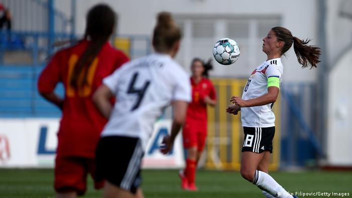 Frauenfußball Länderspiel Montenegro vs Deutschland