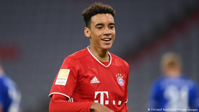 Former Chelsea youth prospect Jamal Musiala scores brilliant Bayern Munich goal