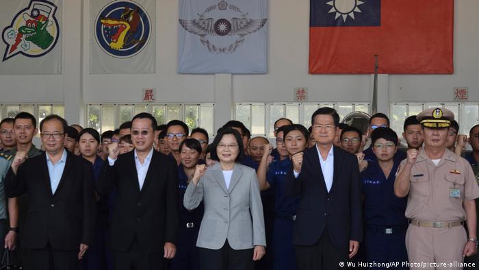 Taiwan Präsident Tsai Ing-wen