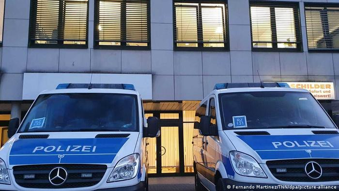 Akcja policji w Garbsen