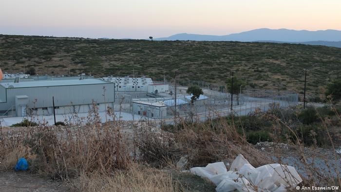 Griechenland I Samos Flüchtlingscamp (Ann Esswein/DW)