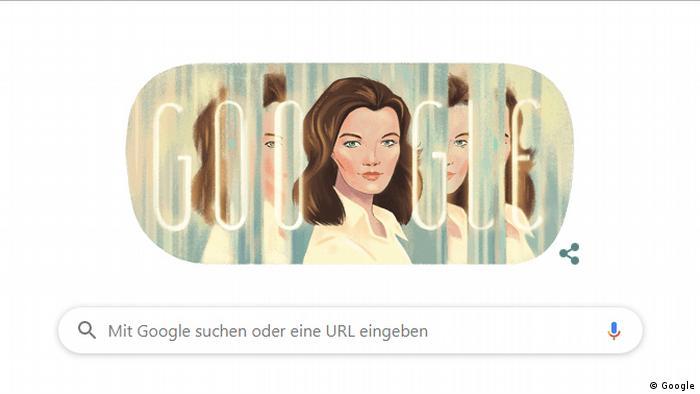 Google Doodle | Romy Schneider 82. Geburtstag (Google)