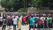 Bangladesch Dhaka | Demonstration von Arbeitsmigranten