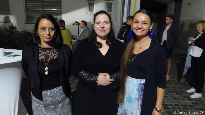 Three women: Verena Lehmann, Victoria Gross and Christina Schumacher