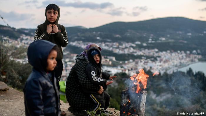 بسیاری از پناهجویان در جزیره ساموس کودک و نوجوان هستند