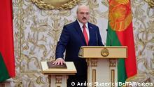 Belarus Vereidigung Präsident Lukaschenko - Alternativzuschnitt