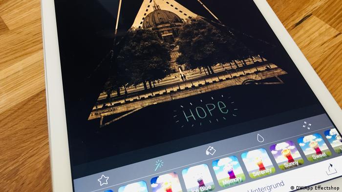 DW Shift   Fotobearbeitungs-Apps im Test, Effectshop