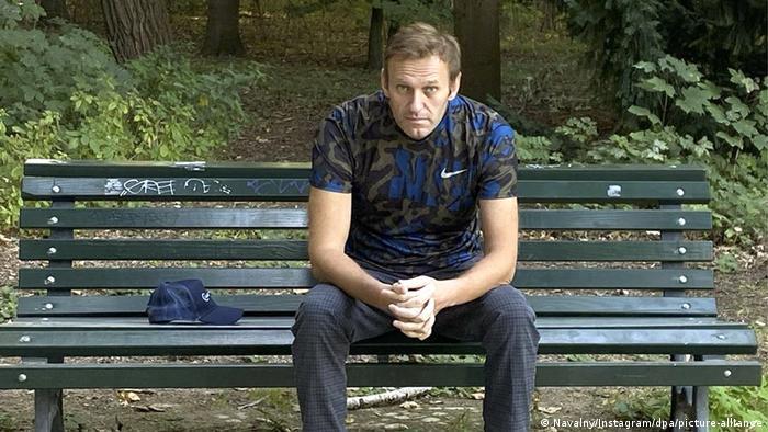 Алексей Навальный после выписки из стационара Шарите