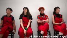 Chile | Mitglieder des feministischen Kollektiv LasTesis
