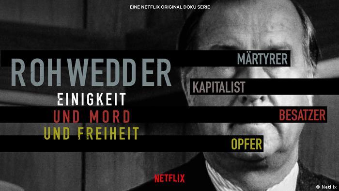 Fernsehserie Titelbild: Rohwedder - Einigskeit und Mord und Freiheit (Netflix)