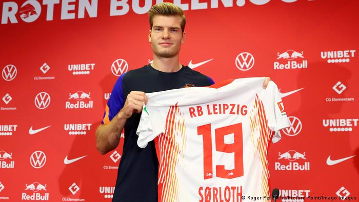 RB Leipzig - Alexander Sörloth (Roger Petzsche/Picture Point/Imago Images)
