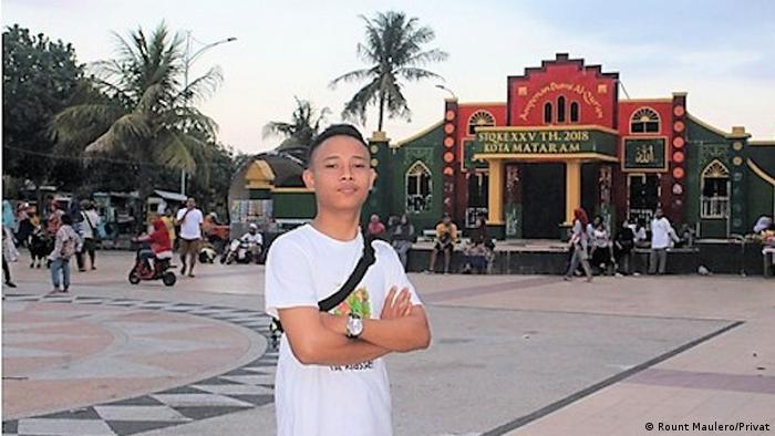 Indonesien | Rount Maulero di Pantai Ampenan, Kota Mataram, Lombok (Rount Maulero/Privat)