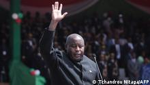 Burundi Präsident Evariste Ndayishimiye