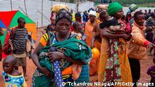 Tansania Burundis Flüchtlinge