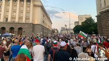 Bulgarien I Proteste in Sofia