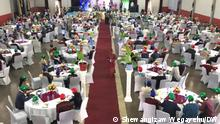 World tourism day participants Bild 2 Desta Ledamo President of Sidama regional state Bild 3 Buzena Alihadir state mister of Minstry of Calture and Tourism Hawassa, Ethiopia, 23. 09. 2020 (c) Shewangizaw Wegayehu/DW