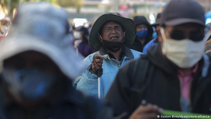 Bolivien Covid-19   Proteste