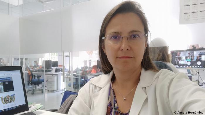 Dr. Angela Hernández in Madrid, Spain