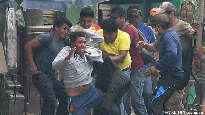 Protestas en Bolivia. (Archivo).