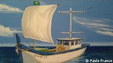 Zeichnung vom Schiff Changri-lá