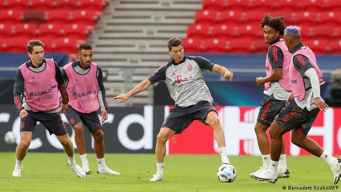 Ungarn | Budapest | Europäischer Superpokal - Bayern München Training (Bernadett Szabo/AFP)